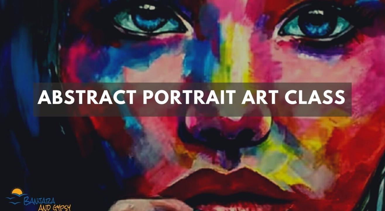 Abstract Portrait Art Class
