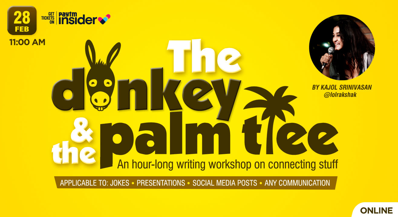 The Donkey and the Palm Tree - Creative thinking workshop by Kajol Srinivasan