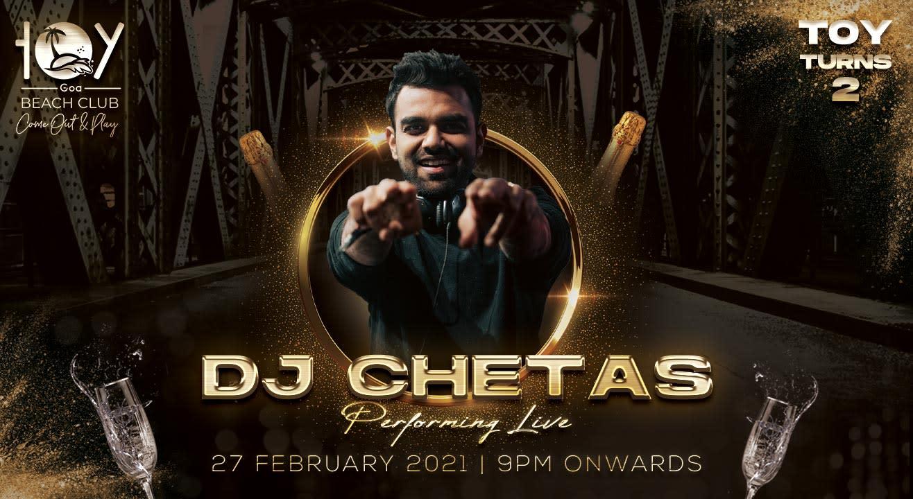 DJ Chetas at Toy Beach Club, Goa