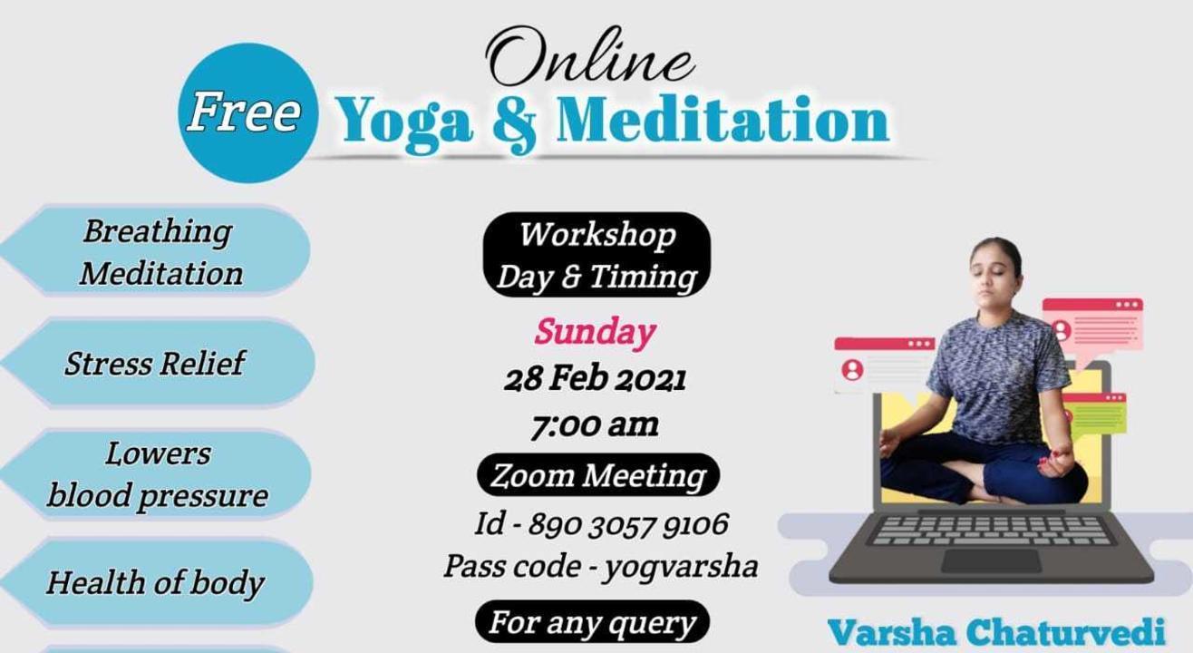 Online Yoga - Meditation and Breath (Beginners) Workshop