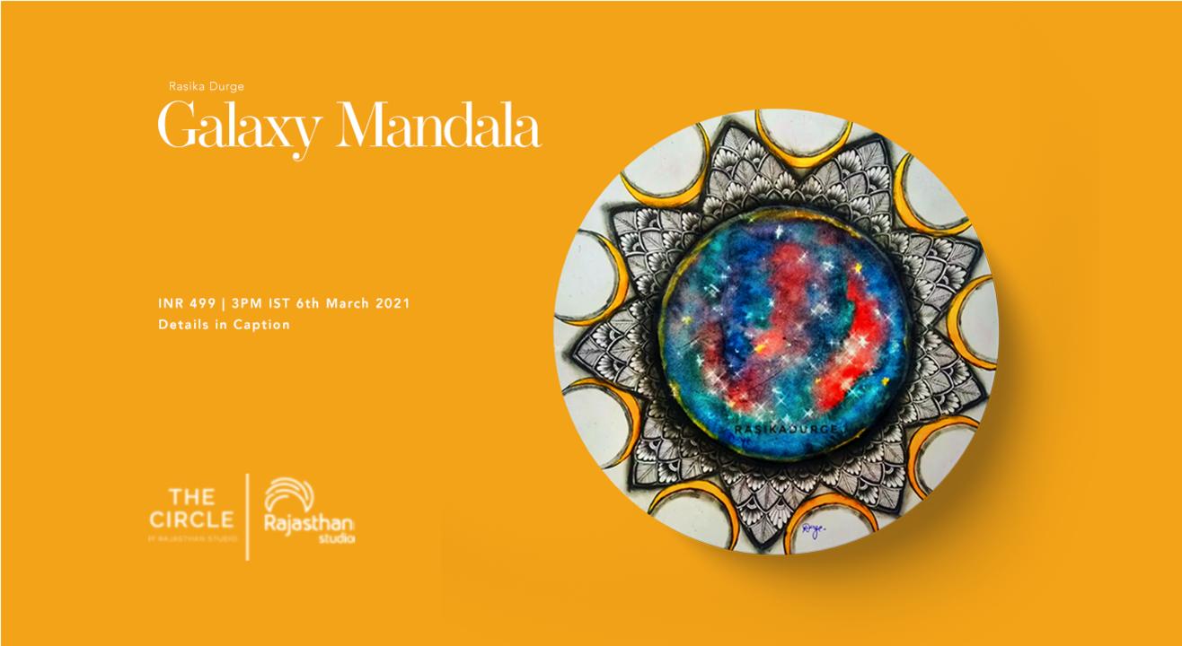 Galaxy Mandala Workshop by Rajasthan Studio