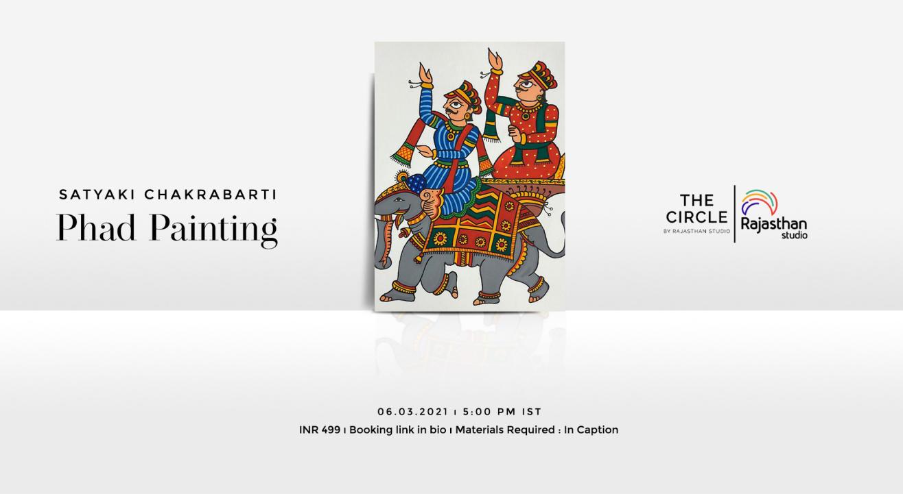 Phad Painting Workshop by Rajasthan Studio