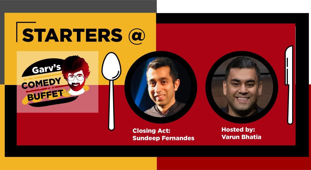 Starters Open Mic @Garv's Comedy Diner