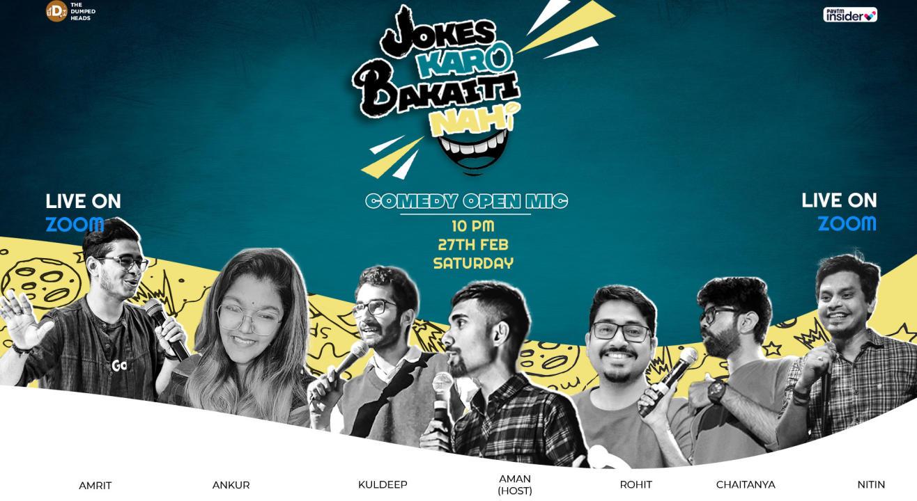 Jokes Karo Bakaiti Nahi (Live on Zoom)