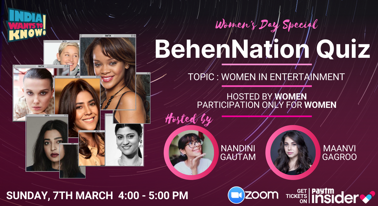 BehenNation : Women in Entertainment by IWTK