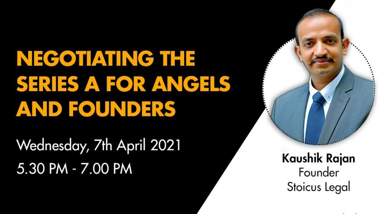 Negotiating the Series A for Angels and Founders