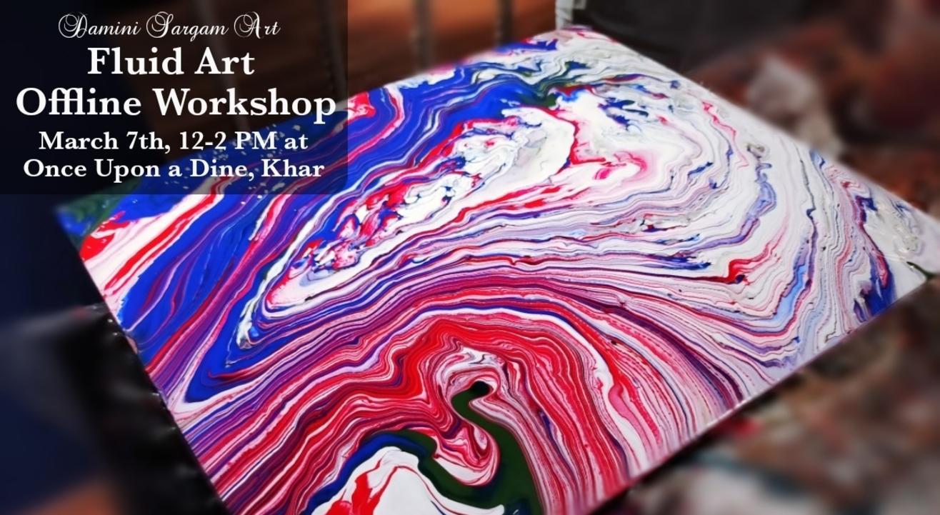 Woman's Day Special Fluid Art Workshop