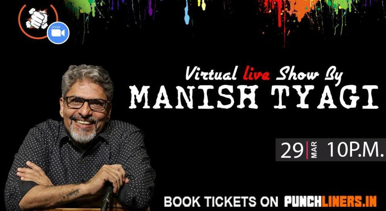 Punchliners Comedy Show Ft. Manish Tyagi on ZOOM