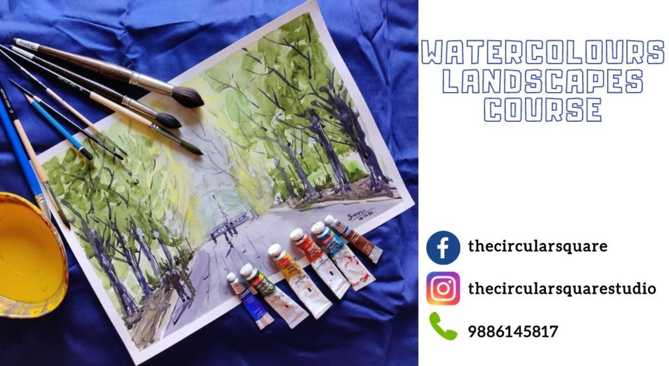Watercolors Landscapes course