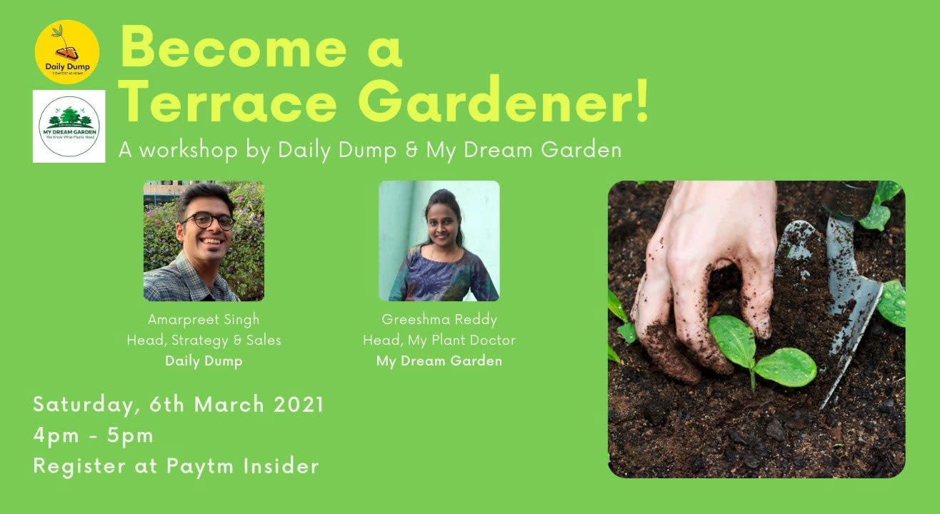 Become a Terrace Gardener