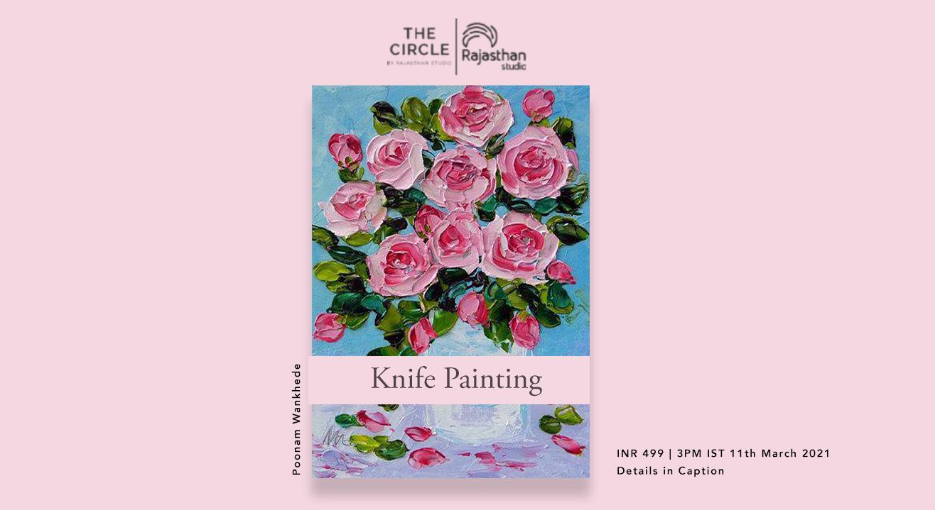 Knife Painting Workshop by Rajasthan Studio
