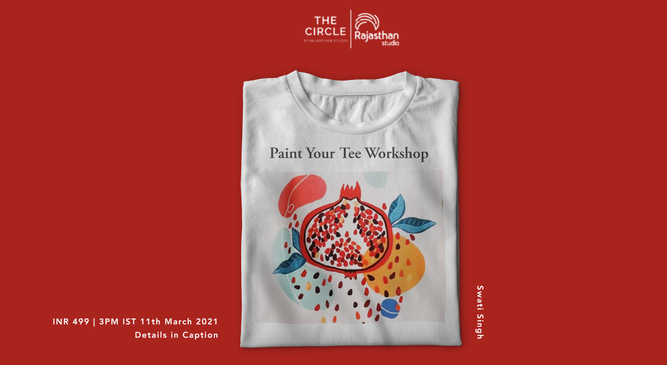 Paint Your Tee Workshop by Rajasthan Studio