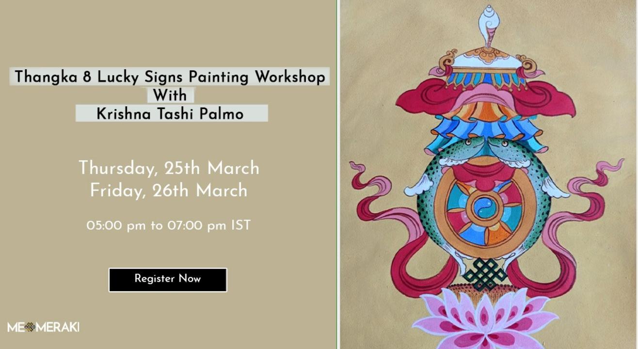 ONLINE THANGKA ART WORKSHOP WITH KRISHNA TASHI PALMO