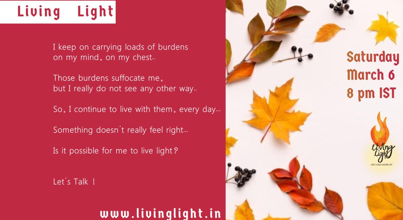Living Light - Dialogue session