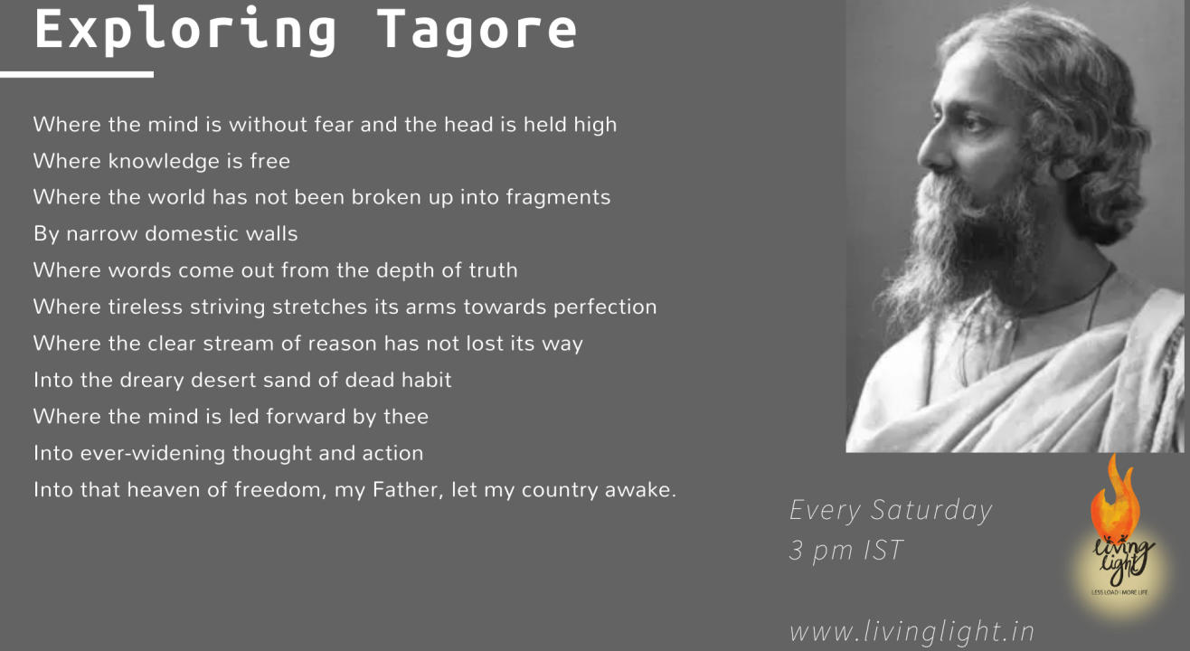 Exploring Tagore