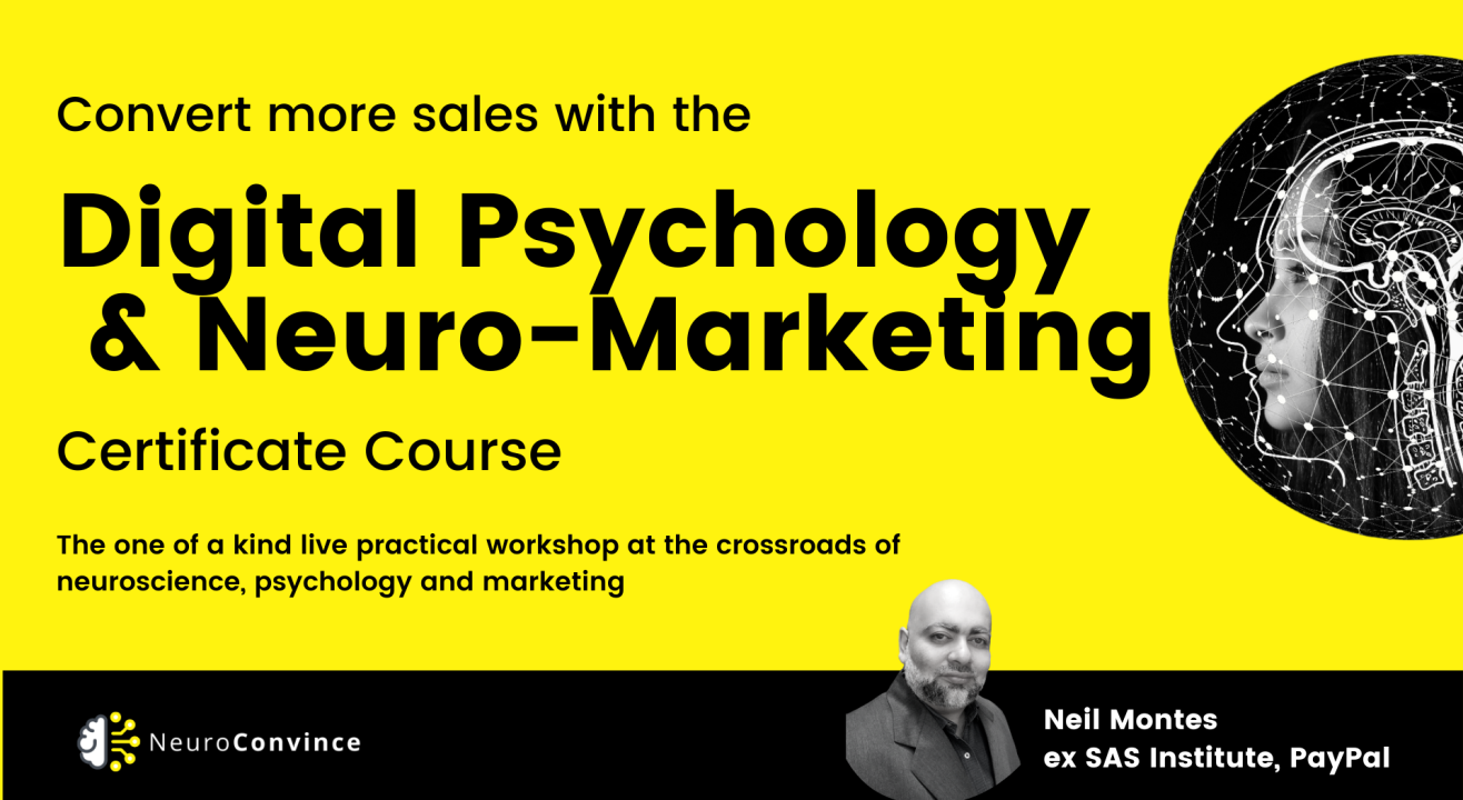 Digital Psychology, Persuasion and NeuroMarketing Course