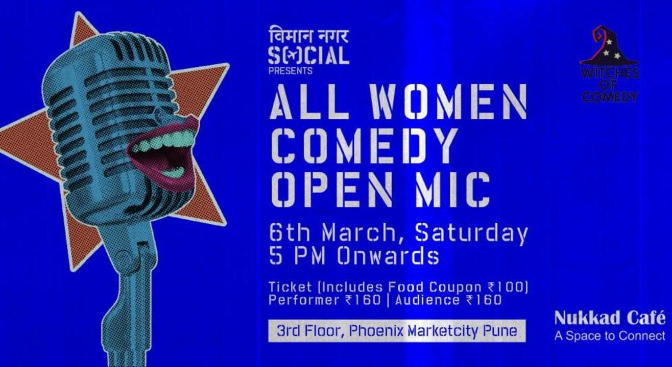 Women Comedy Open Mic