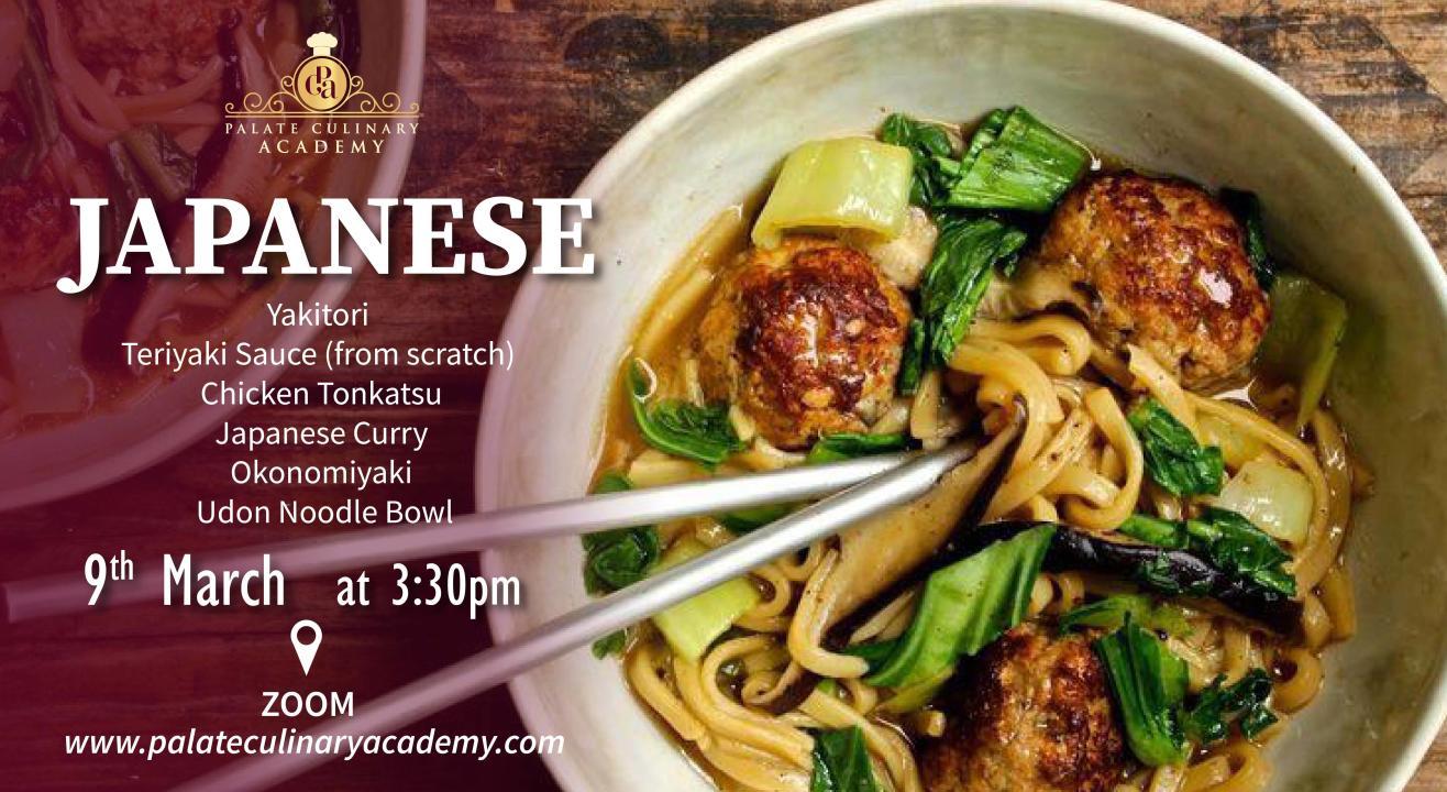 Japanese Cuisine with Rakhee Vaswani