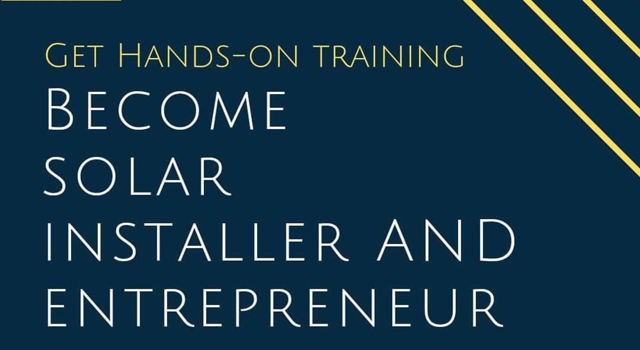 Solar Off-grid Entrepreneurs Hands-on Training by Prof. Chetan Singh Solanki