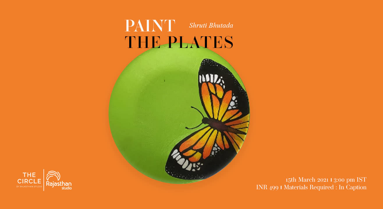 Paint the Plates Workshop by Rajasthan Studio