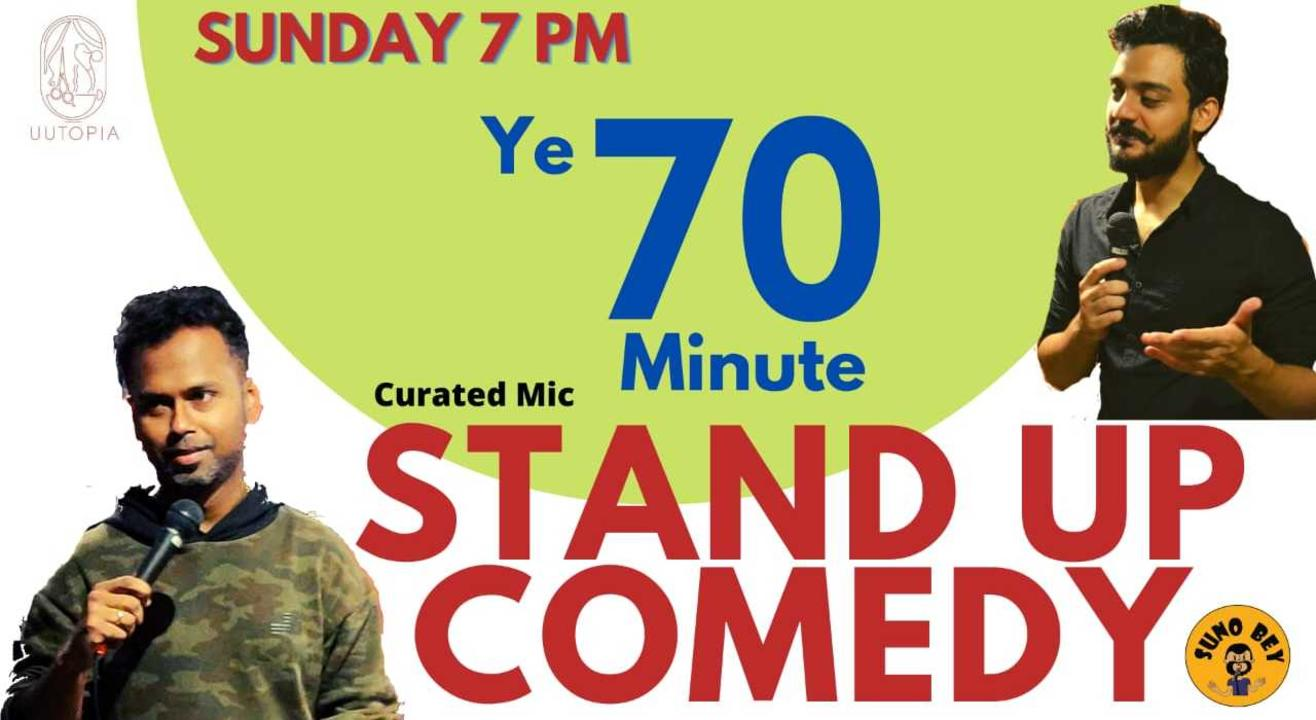 Stand Up Comedy | UUTOPIA | Whitefield-Bangalore| Sunday 7 pm