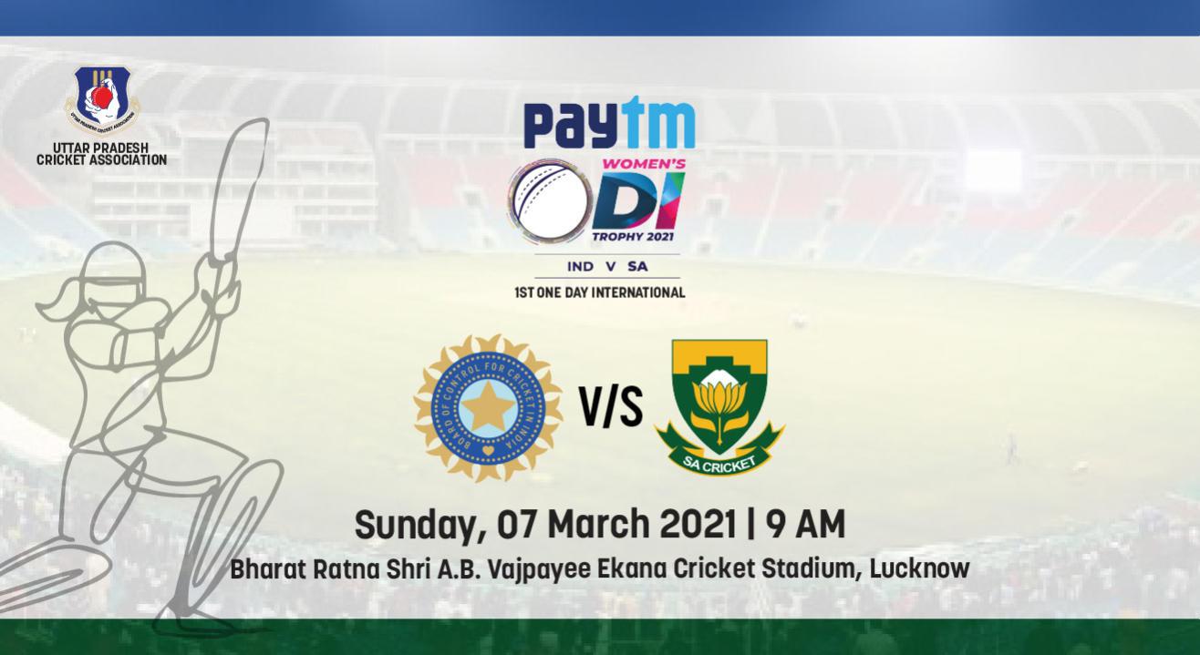 Paytm ODI Series, 1st ODI: India Women vs South Africa Women