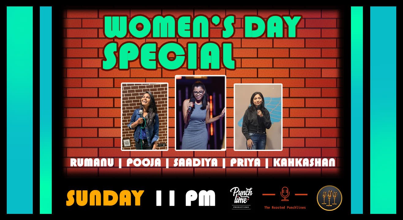 Women's Day Special Comedy Open Mic