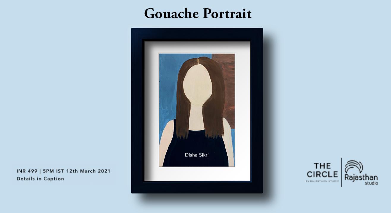 Gouache Portrait Workshop by Rajasthan Studio