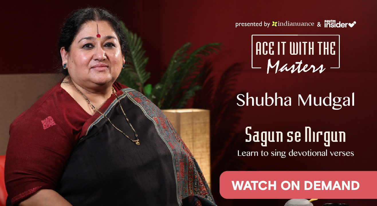 Ace It With The Masters: Shubha Mudgal