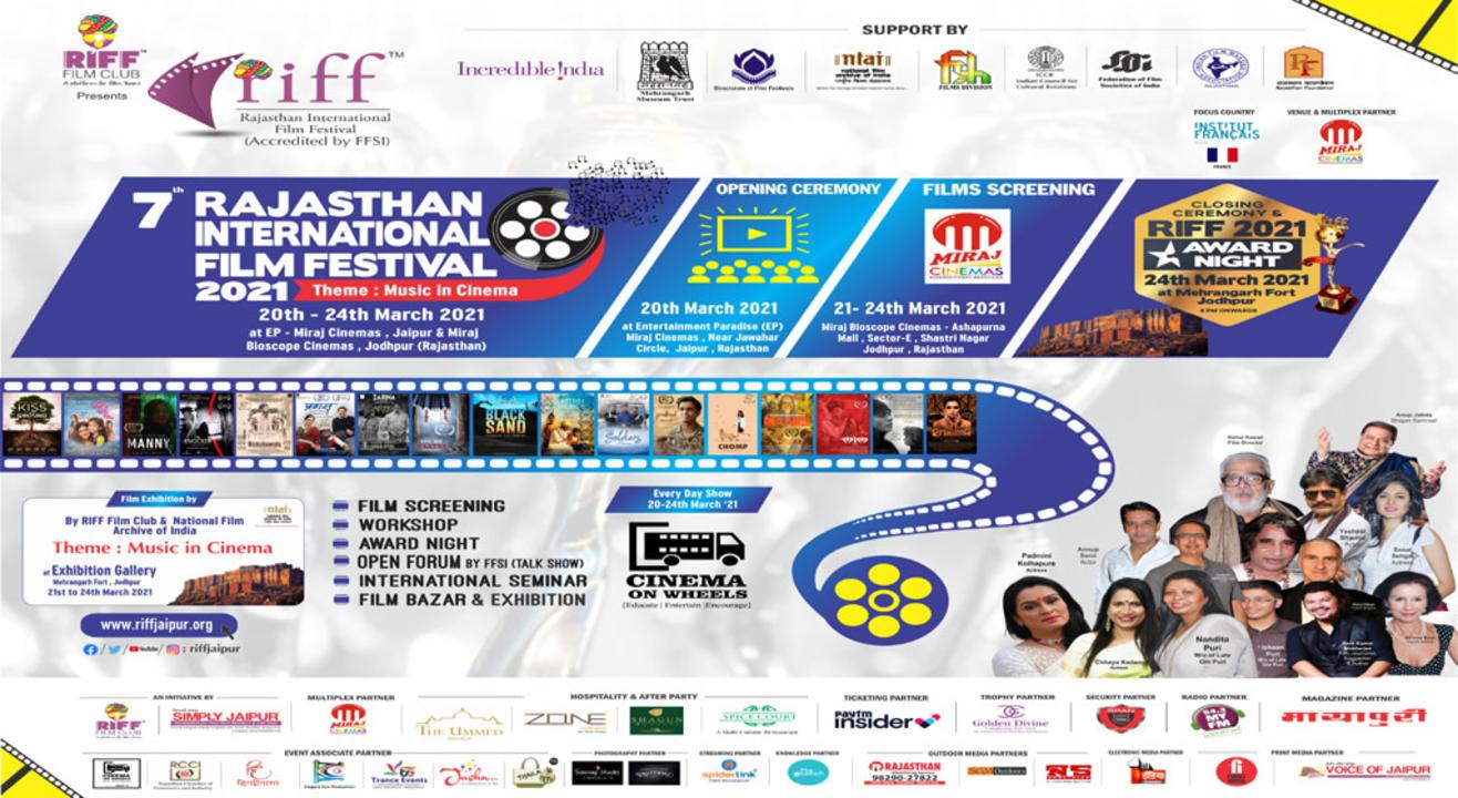 RIFF - Rajasthan International Film Festival 2021 - Jodhpur