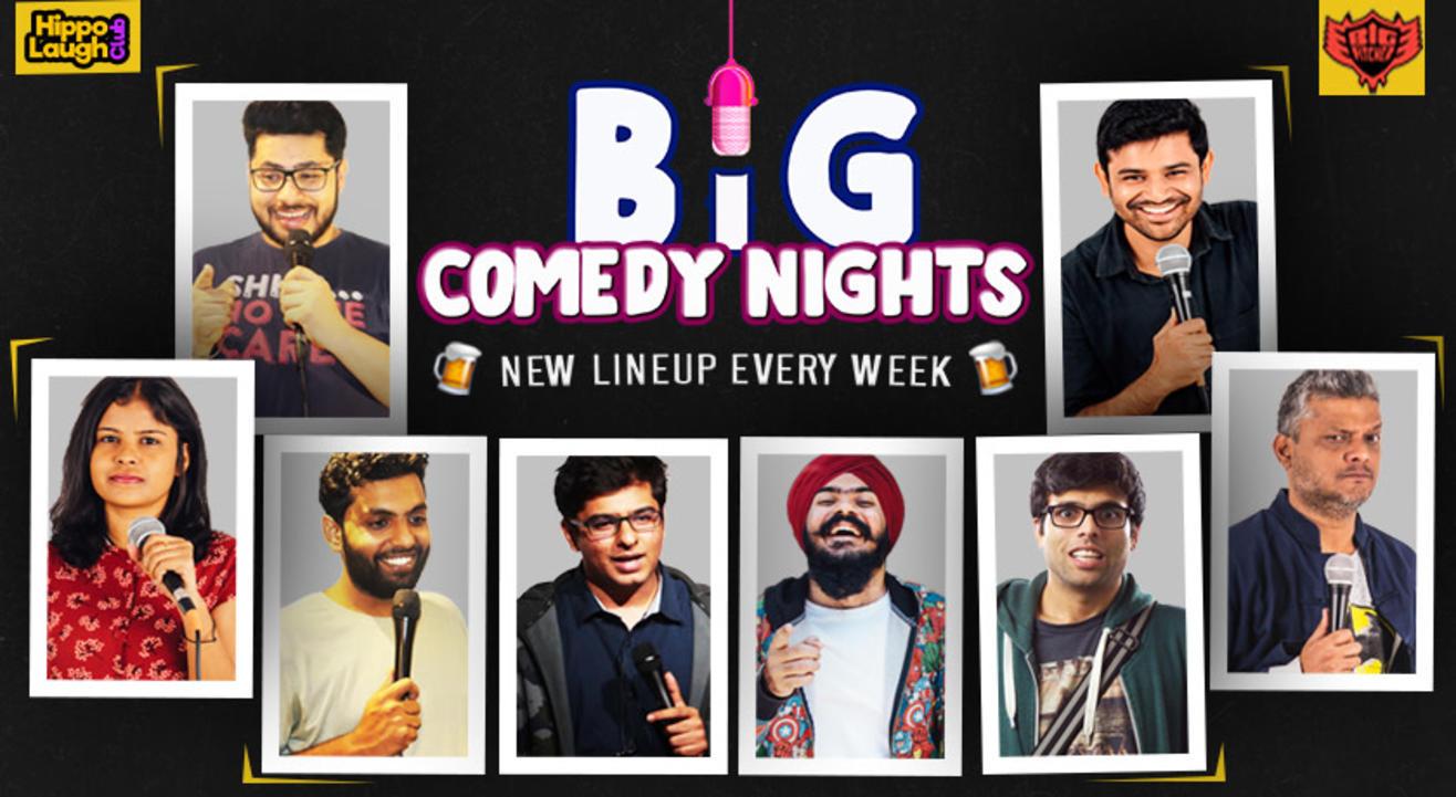 Big Comedy Nights at Big Pitcher Pub