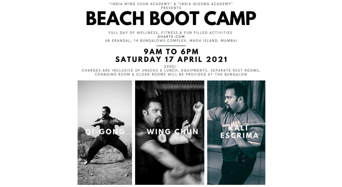 BEACH BOOT CAMP (FULL DAY OF WELLNESS, FITNESS & FUN FILLED ACTIVITIES