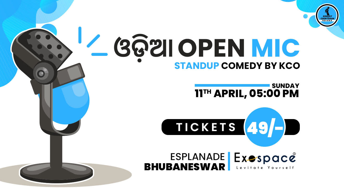 Odia Open Mic : Standup Comedy Show