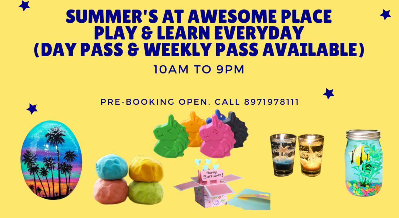 Summer Camp for kids at Awesome Place