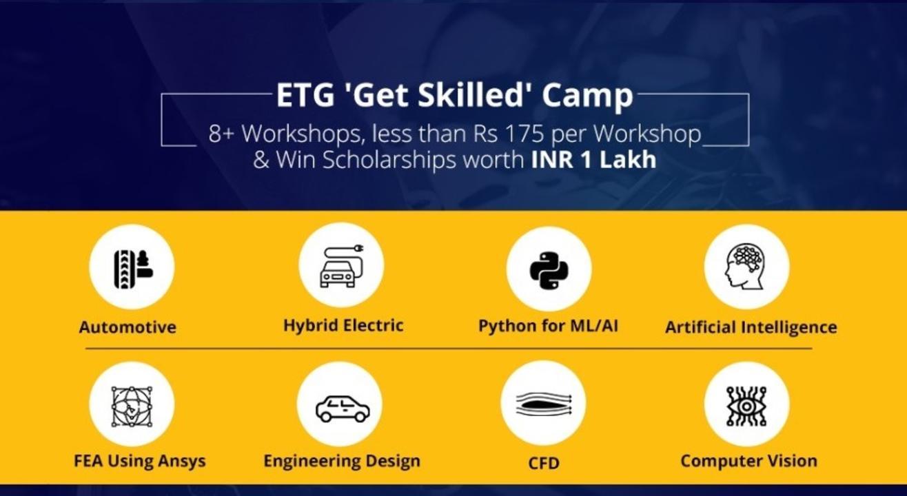 ETG Get Skilled Camp 2021