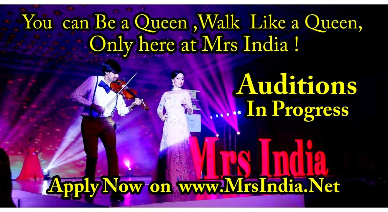 Mrs India 2021 2022 Auditions in Chennai for South Zone