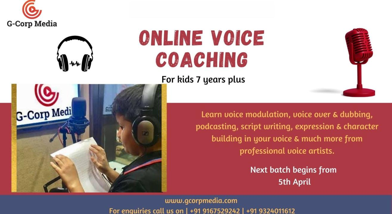 ONLINE VOICE COACHING WORKSHOP FOR KIDS
