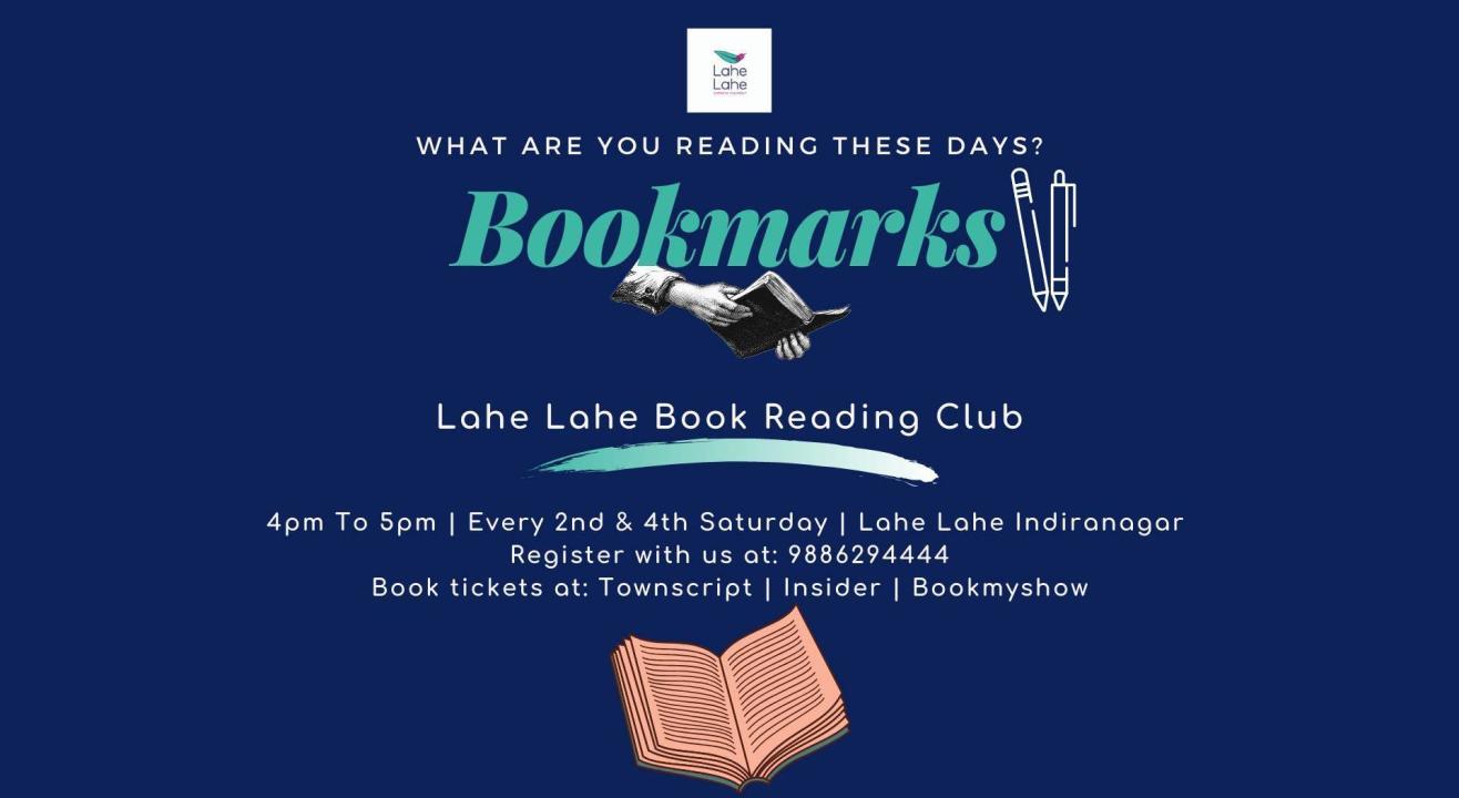 Bookmarks- Lahe Lahe Reading Club