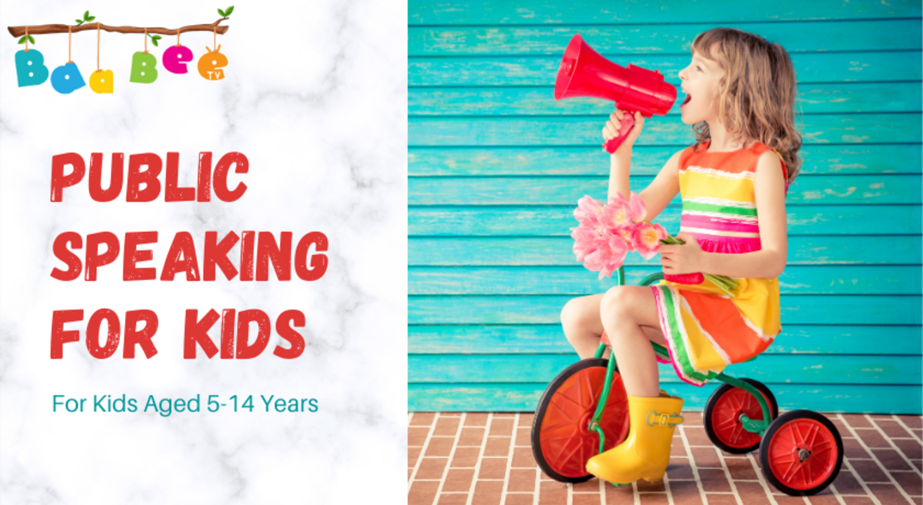 Public Speaking For Kids | Demo Class | For Kids Aged 5-14 Years | BaaBee TV