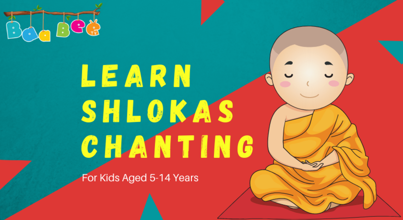 Learn Shlokas Chanting | Demo Class | For Kids Aged 5-14 Years | BaaBee TV