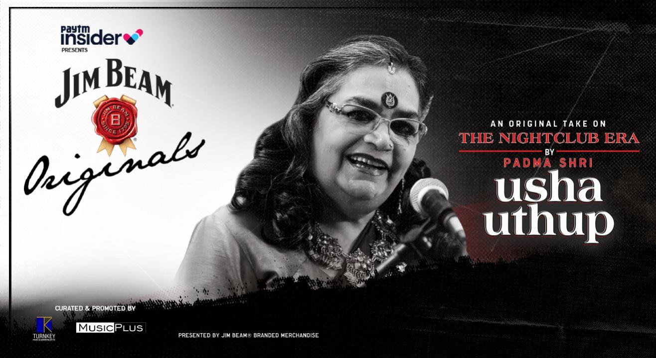 Usha Uthup's Original Take On The Night Club Era | Paytm Insider presents Jim Beam Originals