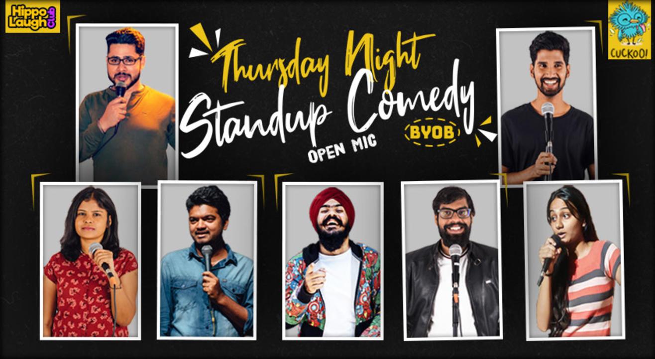 Thursday Night Standup Comedy | Koramangala