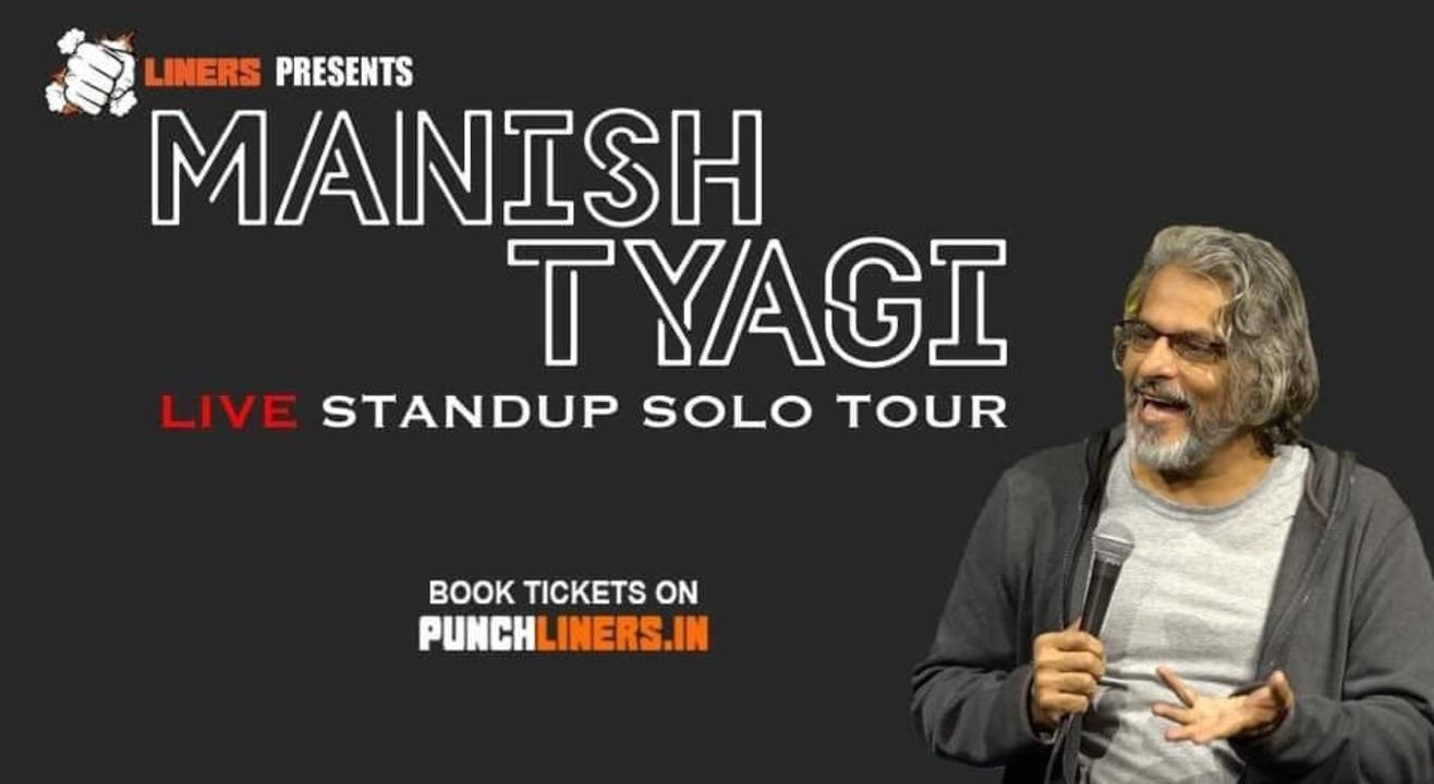 Punchliners Comedy Show ft Manish Tyagi in Udaipur