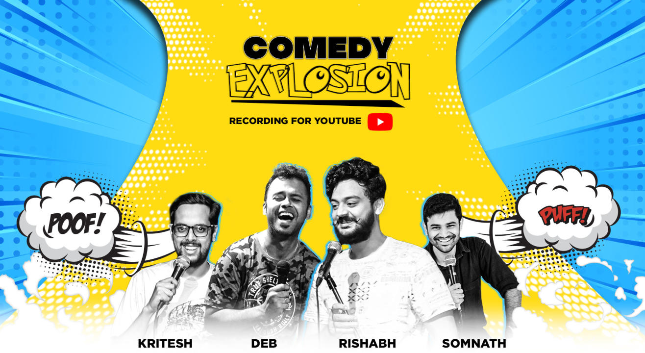 Comedy Explosion- Recording For You Tube | Bangalore