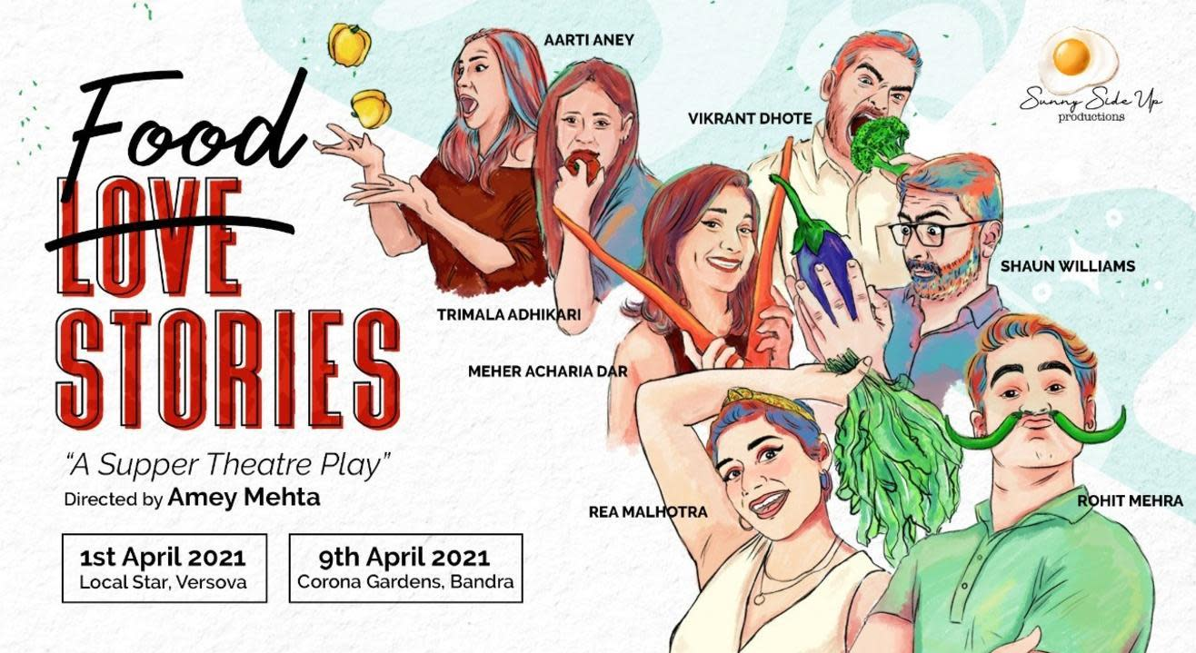 Reserve your seat for Food Stories, A Supper Theatre Play
