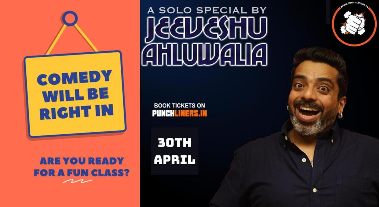Punchliners Comedy Show ft Jeeveshu Ahluwalia in Jaipur