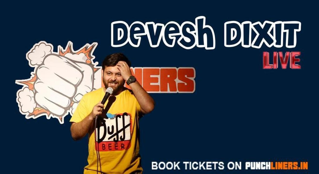 Punchliners Comedy Show ft Devesh Dixit in Hyderabad