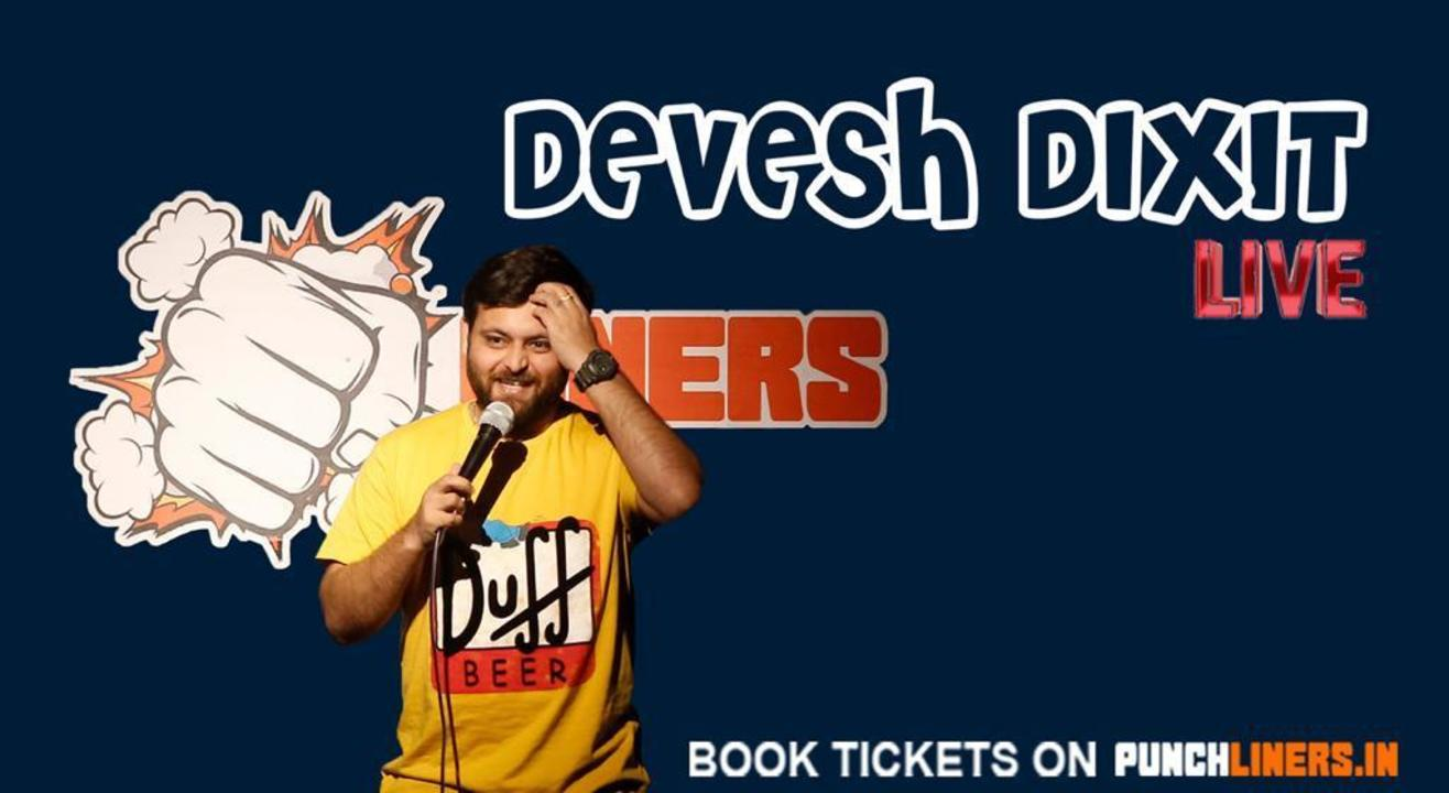 Punchliners Comedy Show ft Devesh Dixit in Bangalore Whitefield