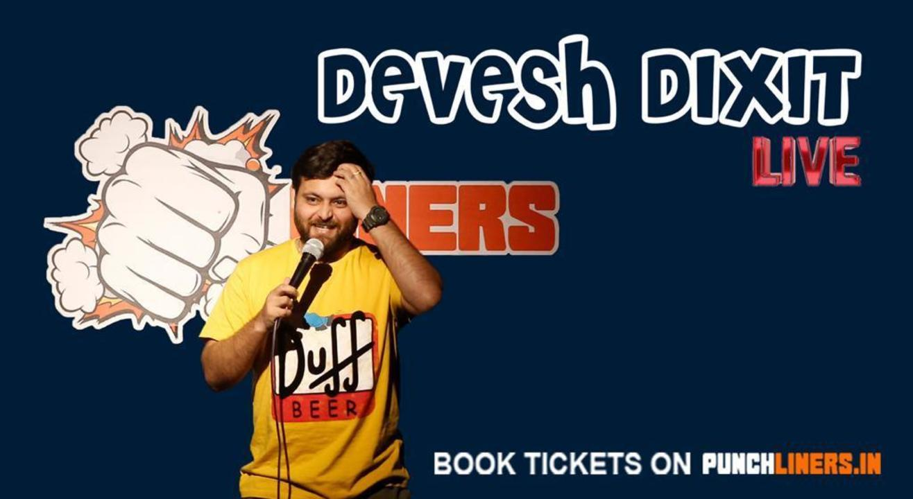 Punchliners Comedy Show ft Devesh Dixit in Lucknow