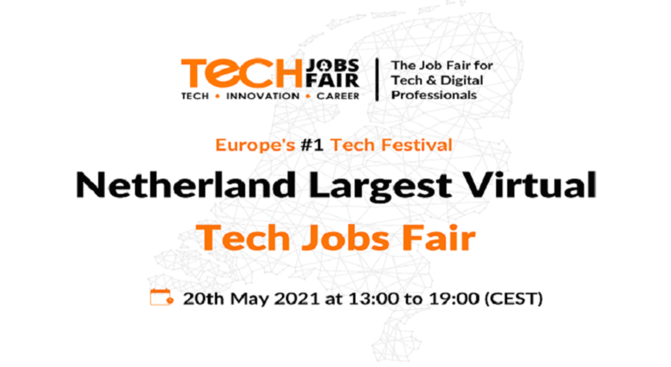 Netherland Growing Recruiting and Branding Virtual Jobs Fair